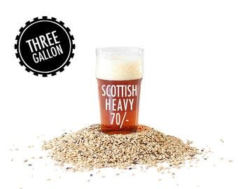 Scottish Heavy 70/- 3 Gallon Beer Making Recipe Refill Kit - Brew in a Bag