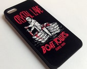 Crystal Lake Boat Tours Mobile Phone Case for the iPhone or Galaxy Funny Retro Horror Punk Gore Bloody Humor Gift