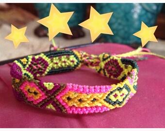 SALE Dance Friendship Bracelet  - 12 Strings (069s)