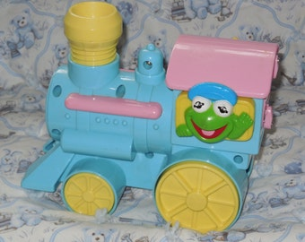 Remco Crib Sesame Street Train /  Great Gift Idea / Not Included in  Coupon Sale/S :)