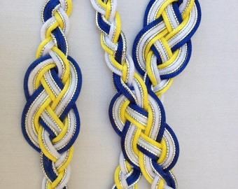 The Jaime Premium Infinity Handfasting Cord (5 strands, 3 satin, 2 mettalic)