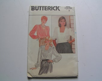 Vintage Butterick Pattern 6698 Miss Blouse