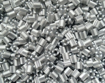 Perler Beads for Sale - Silver Pearl Stripe (144)