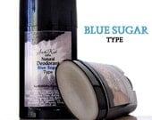 Men's Deodorant - Blue Sugar Type - Natural Aluminum Free Deodorant - 2.65 oz.