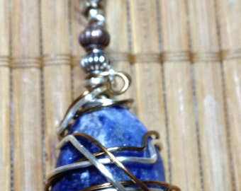Soothing Sodalite Necklaces by Rockin' Crystals