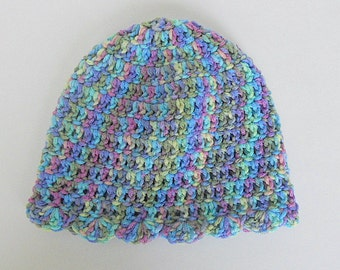 Toddler  Girl  Hat 2 To 5  Years  Beanie Fall Skullcap Infant Blue Purple Yellow Green  Winter  Cap