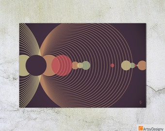Contemporary Modern Abstract Giclée Art Print - As of yet, Untitled No1 - Small Medium Large Art Prints