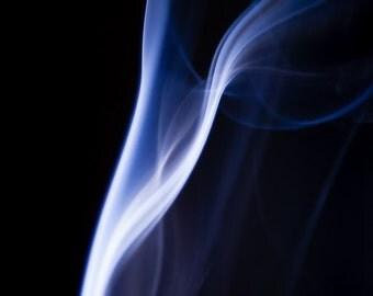 Incense Smoke Print