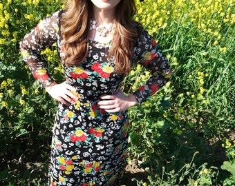 Hippie-floral-VTG-maxi-dress