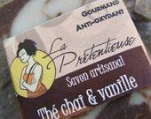 Chai tea and vanilla natural handmade soapbar 120 grams