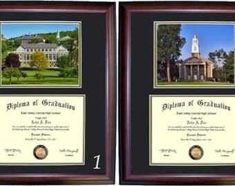Colgate Diploma Frame