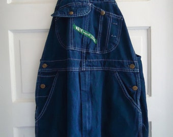 Vintage 90s KEY Brand Overalls ADULT SIZED 34 x 29