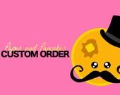 CUSTOM ORDER for StaciK