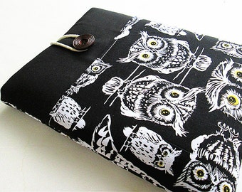 iPad Case, iPad Cover, iPad Sleeve, iPad Air Cover, iPad Air Case, Owls.