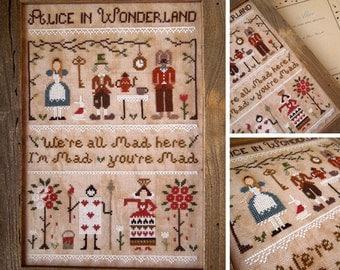 Alice in Wonderland - PDF Digital Cross Stitch Pattern