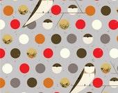 Sale - CHARLEY HARPER by Birch Fabrics - Bank Swallow (Fall) - 1 Yard - Quilting Weight Organic Cotton Fabric