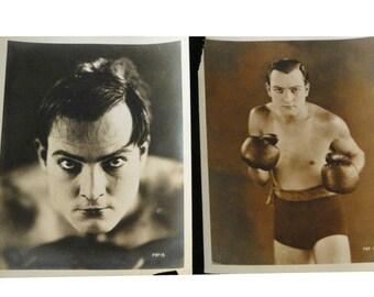 George O'Hara, Hollywood Actor Promotional Movie Stills, Original Sepia Photographs