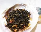 Tea Sample - Casimira -  black loose leaf tea - Raspberry Earl Grey