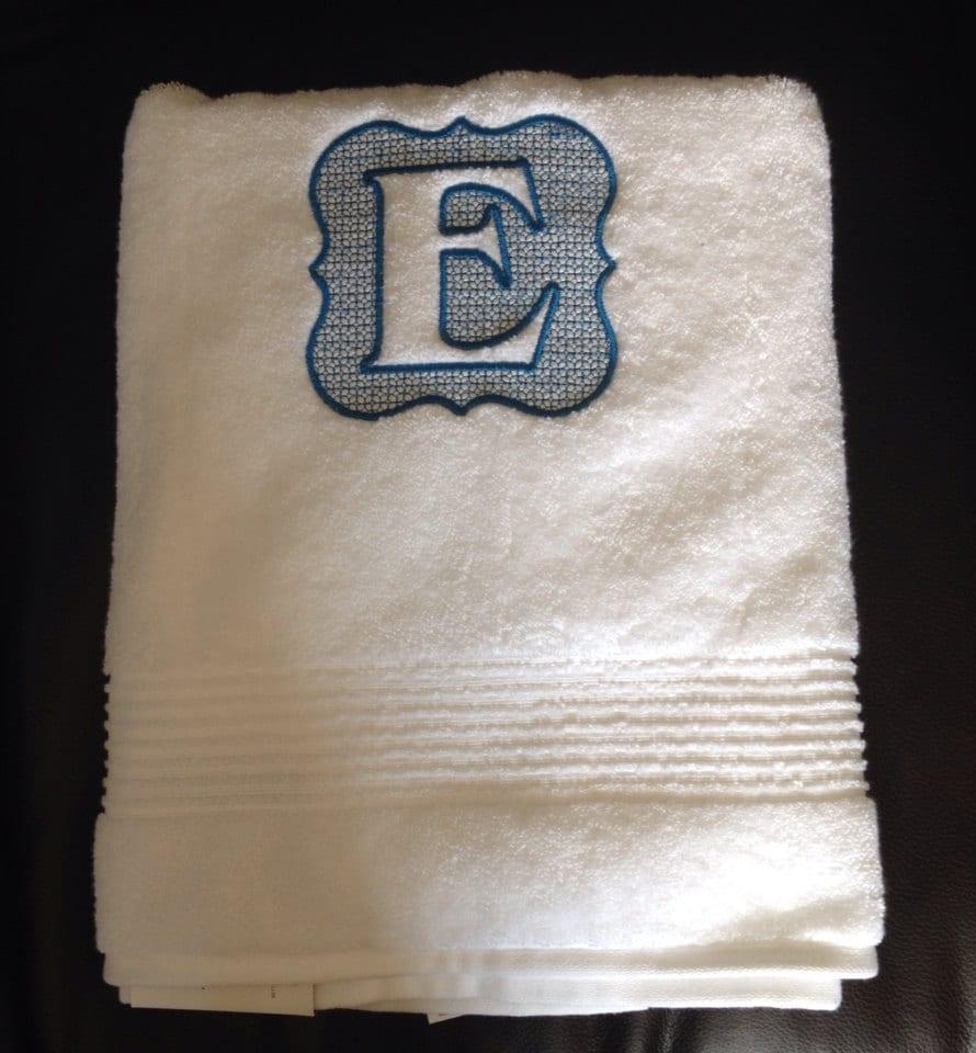 Monogrammed Bath Towels Monogrammed Towels Custom Bath