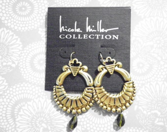 1 Pr. Nicole Miller Goldplated Earrings