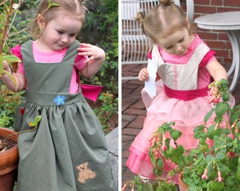 Kaylee Frye Inspired Reversible Dress - Ella Dress collection - Girls Sizes 2-6X Play Dress or Costume