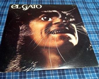 Rare Vintage El Gato Gato Barbieri Vinyl record Album
