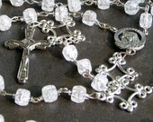Rosary | Rosaries | Rosarys | Unisex Five Decade Catholic Rosary Chain – Necklace – Handmade Gift