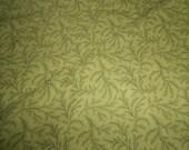 One Yard  RJR Jinny Beyer Basics Green Spray Fabric
