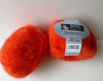 Yarn Sale  - Hot Red - 7522 Diverso by SMC Select