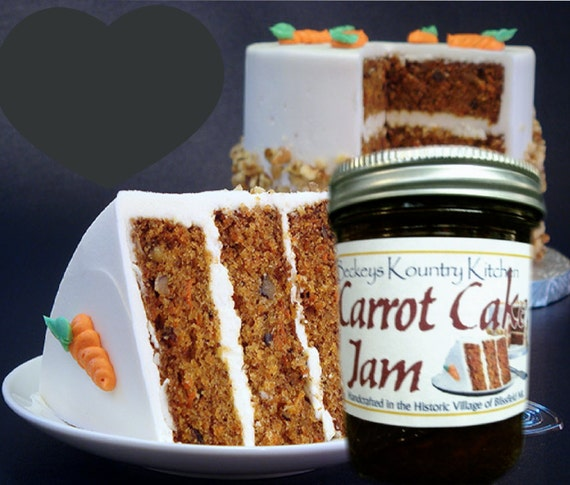 Jam and Jelly. Homemade Carrot Cake Jam, Hancrafted, Deliciously Sweet ...