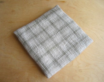 Checkered pure linen towel, soft and lightly linen towel, Linen bath sheet, Bath linen towel, linen towels, pure bath towel, organic towel