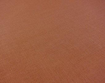 HIL-TeX cotton fabric - brown uni