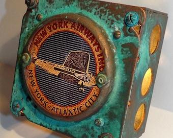 New York Airways Luggage Label Night Light