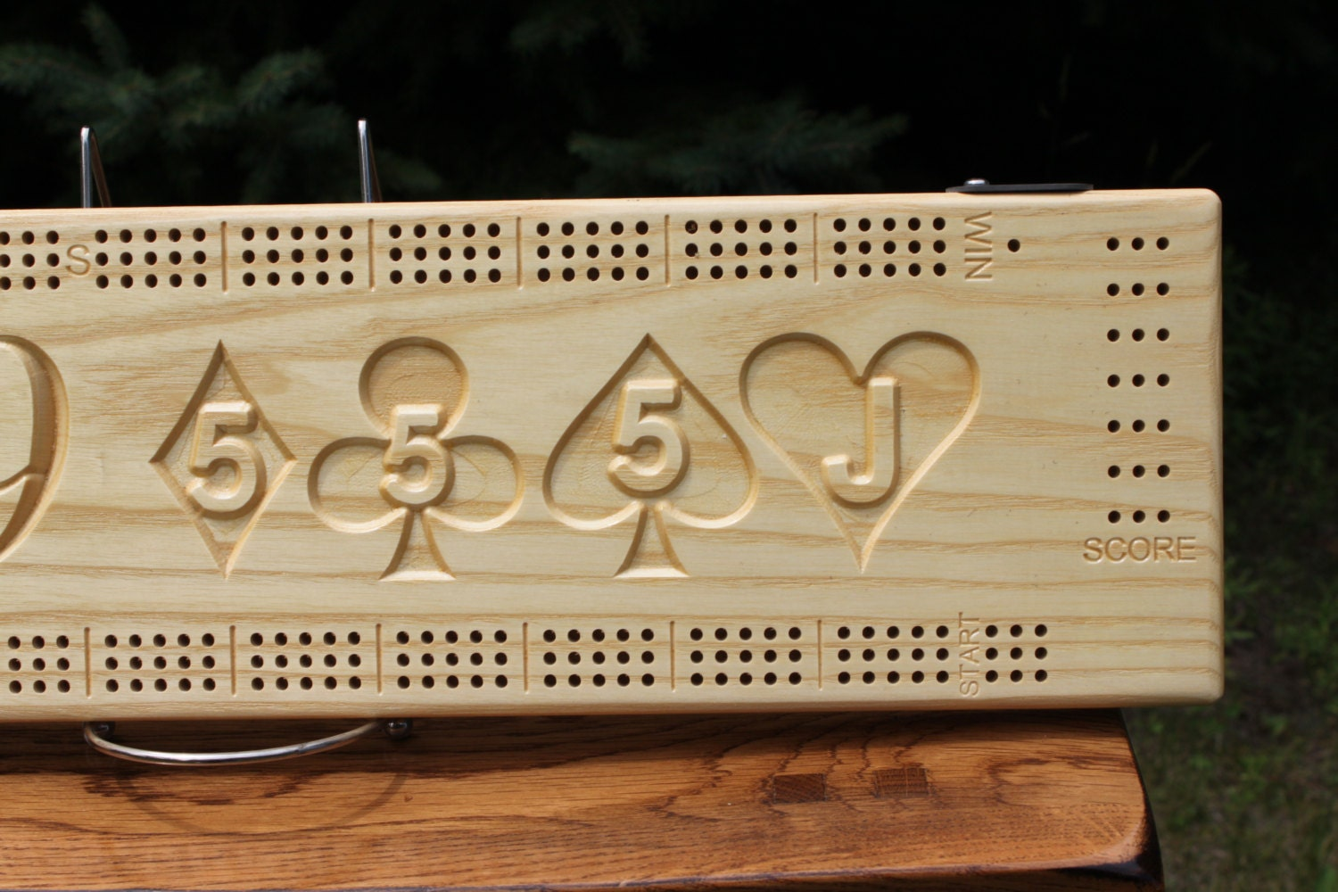 29 Hand Cribbage Board Made From White Ash By Josephshimko
