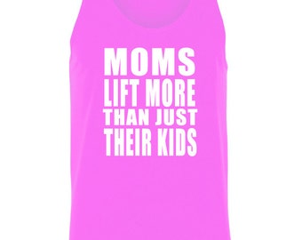 Moms Lift More Than Just Their Kids Tank