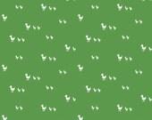 Country Ducks in Green: Tasha Noel 1/2 Yard Cut