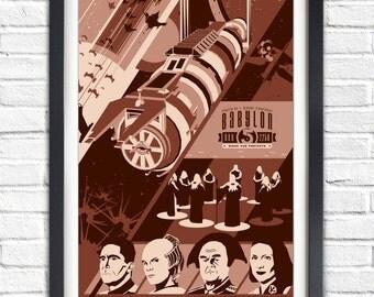 Babylon 5 - Season ONE - 2258 - 19x13 Poster