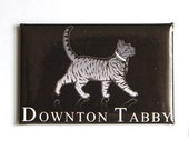 Downton Tabby Magnet