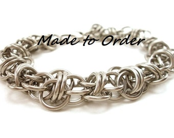 Mens Chainmail Bracelet