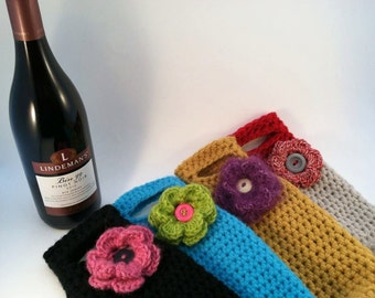 Crochet Pattern for the Wino Tote PDF Instant Download Permission to Sell Finished Items