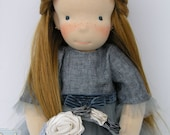Fiona - OOAK waldorf style doll almost 19 inch