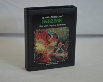 Atari 2600 Video Game: Berzerk