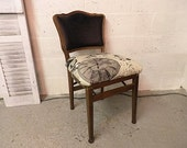 Reserved for Kristen - Vintage Shabby Chic Side Chair