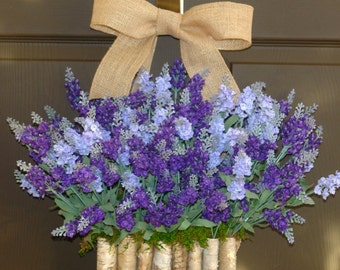 spring wreath front door wreaths lavender wreath, front door decorations, spring wreaths front door wreaths