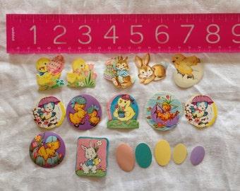 Vintage Easter Seals/Stickers - 17