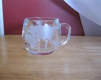 Globe terrestre de Nestlé Coffee Mugs  ( 8 )