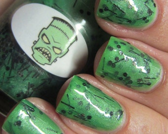 Halloween Frankenstein Nail Polish