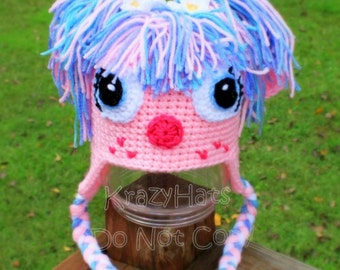 Crochet Abby Cadabby hat.Made to order.