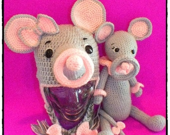 Mindy Mouse Ring Toss Hat Pattern©