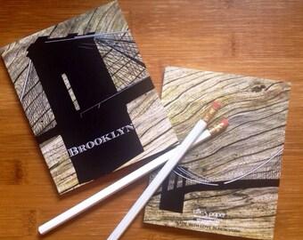 Wood Grain Brooklyn Notebook | Brooklyn Journal - Woodgrain- NYC- Brooklyn-New York City - I Love New York